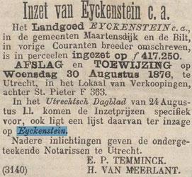 Advertentie-veiling-Eyckenstein-1876-08-26-a