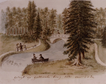Eyckenstein_Gotische-brug-1840