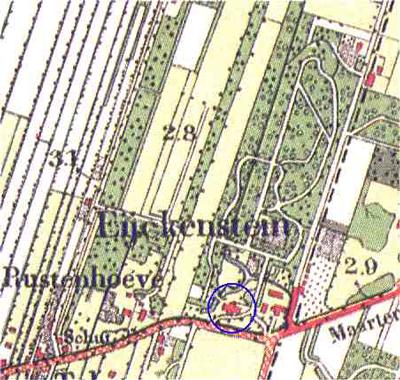 Eyckenstein_Militaire_Plattegrond_1910