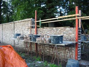 Eyckenstein_Tuinmuur-2006-in-opbouw