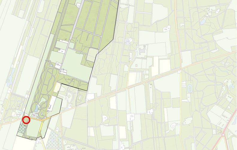 Kaart Eyckenstein Berkenstein