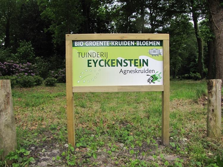 20160514 Nieuw bord Tuinderij Eyckenstein bij de weg - 750