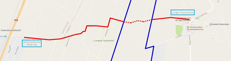Calamiteitenweg Loosdrechtse Spoor - 1500