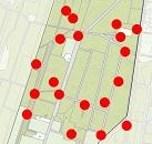 Broedvogelonderzoek kaart glanskop - 130