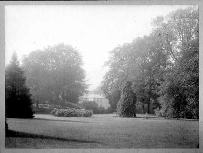 Park in 1905 met zicht op Eyckenstein