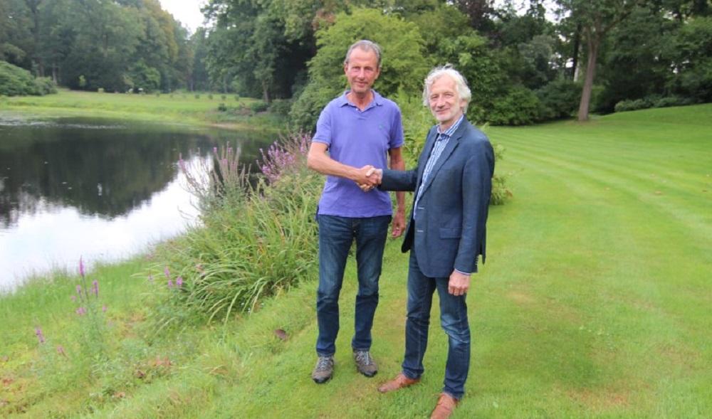 Eyckenstein tekent partnerschap Geopark Heuvelrug