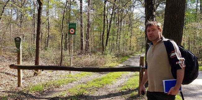 Meelopen met bosmierenonderzoeker